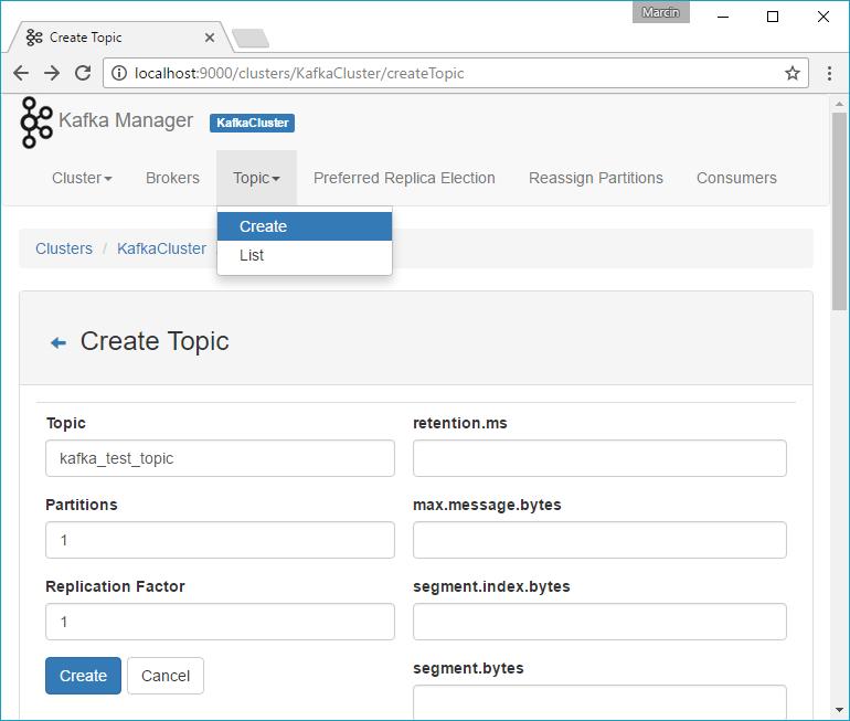 Marcin Zabłocki blog | Setup Apache Kafka in Docker on Windows