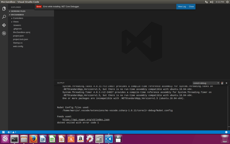 Marcin Zabłocki blog | Setup ASP NET Core 1 0 debugging on
